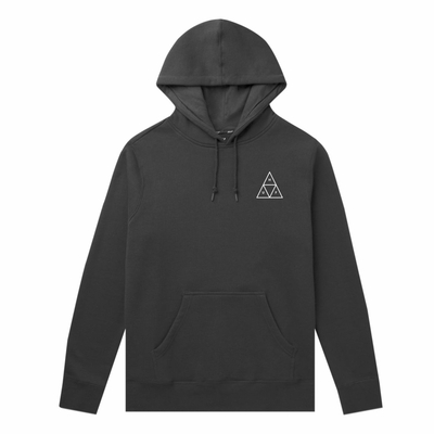 SWEAT CAPUCHE HUF DYSTOPIA BLACK