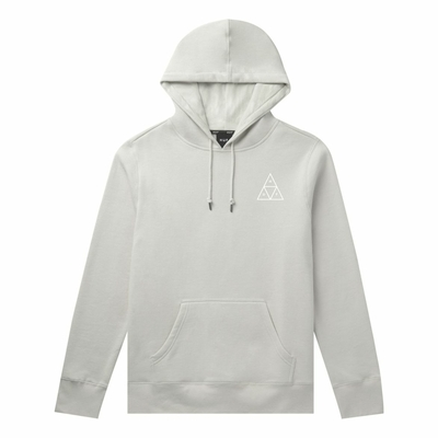 SWEAT CAPUCHE HUF DYSTOPIA LIGHT GREY
