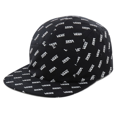CASQUETTE VANS RETRO ALLOVER CAMPER Black Retro Vans