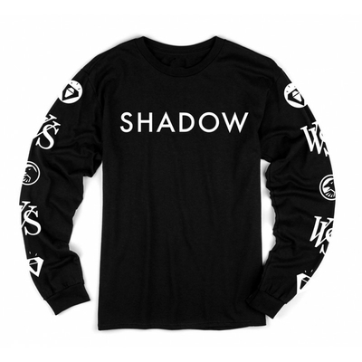TEE-SHIRT SHADOW VVS MANCHES LONGUES BLACK