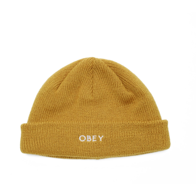 BONNET OBEY ROLLUP GOLDEN PALM