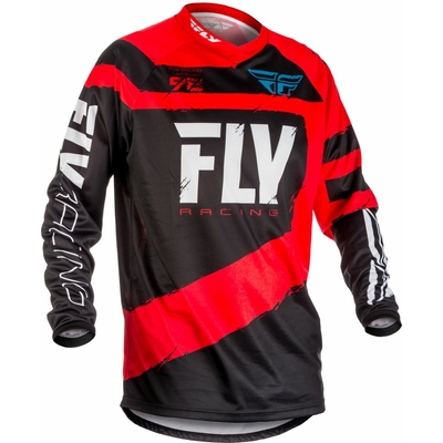 Maillot FLY RACING F-16 red/black 2018