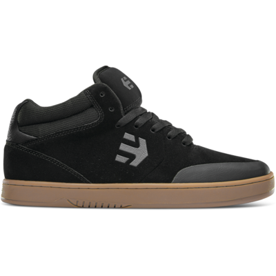 SHOES ETNIES MARANA MID BLACK CHARCOAL GUM