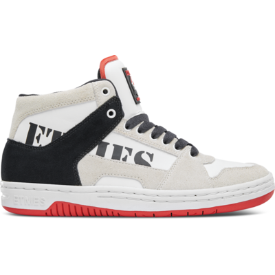 SHOES ETNIES MC RAP HIGH WHITE NAY RED