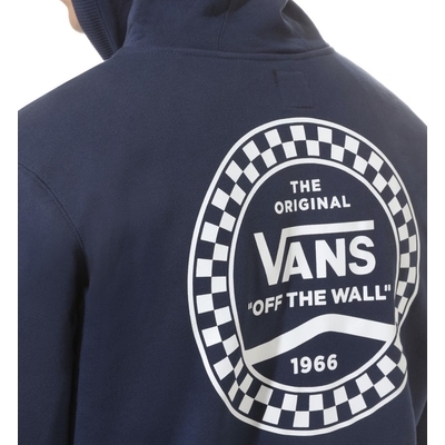 ZIPPER CAPUCHE VANS CHECKERED SIDE STRIPE NAVY