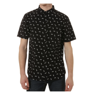 CHEMISE VANS ALLOVER DISTORTED PERFORMANCE black