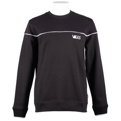 SWEAT CREW VANS REFLECTIVE C BLACK