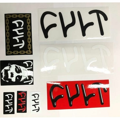 PACK DE STICKERS CULT RED