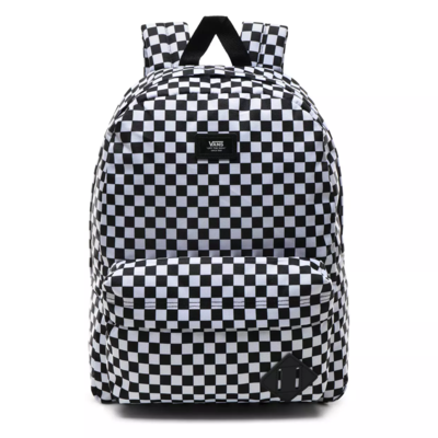 SAC A DOS VANS OLD SKOOL III BLACK WHITE