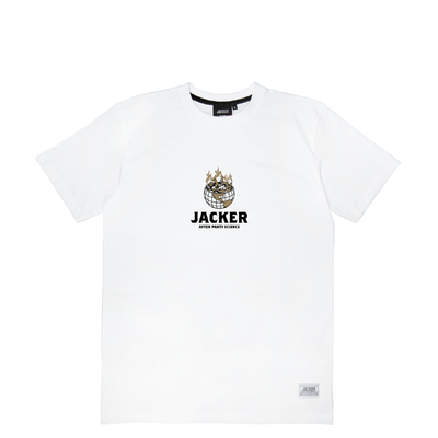 TEE SHIRT JACKER ASHTRAY WORLD WHITE