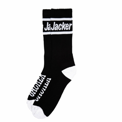 CHAUSSETTES JACKER AFTER LOGO BLACK