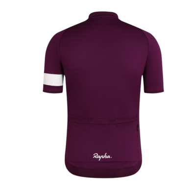 MAILLOT RAPHA CORE JERSEY PLUM