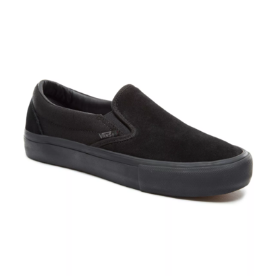 SHOES VANS SLIP-ON PRO BLACKOUT