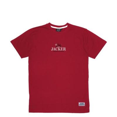 TEE SHIRT JACKER HEAVEN'S SOLDIERS DARK RED