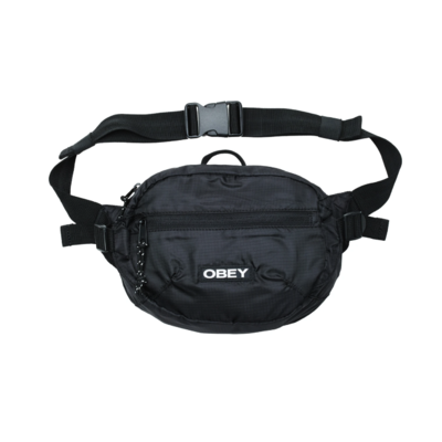 SACOCHE OBEY COMMUTER WAIST BAG BLACK