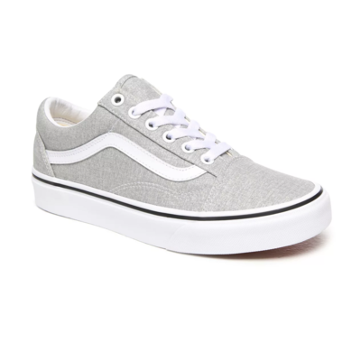 SHOES VANS OLD SKOOL SILVER/TRUE WHITE
