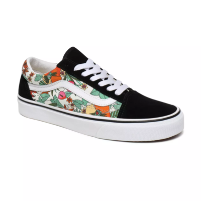 CHAUSSURES OLD SKOOL (MULTI TROPIC) BLACK/TRUE WHITE