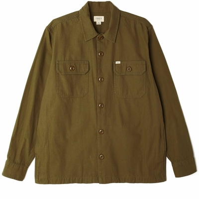 VESTE OBEY IDEALS ORGANIC FIELD WOVEN