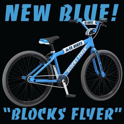 "SE BIKES BLOCK FLYER 26"" SE BLUE 2020"