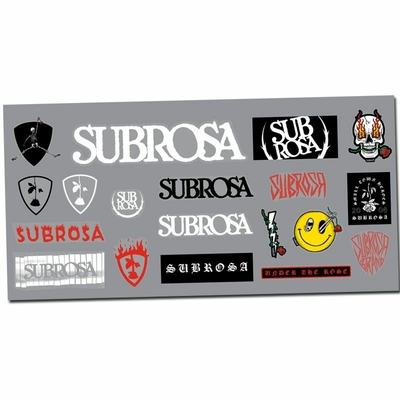 PACK STICKERS SUBROSA 2020