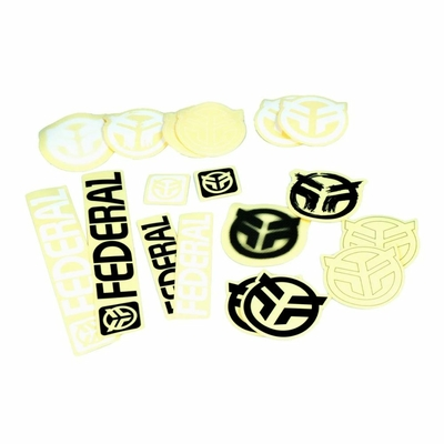 STICKERS FEDERAL 18PCS