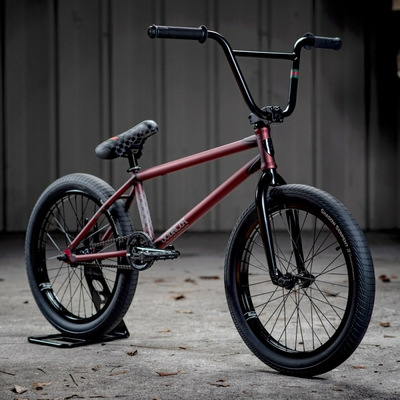 BMX SUBROSA NOVUS RAY SIGNATURE TRANS RED 2021