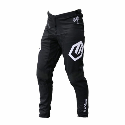 PANTALON EVOLVE SEND IT BLACK/WHITE KID