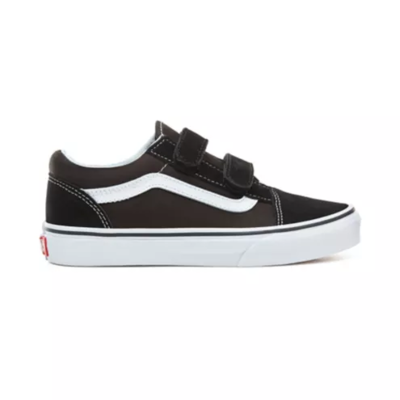 SHOES VANS OLD SKOOL V BLACK WHITE