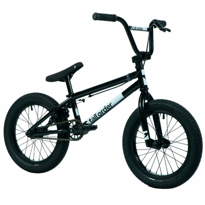"BMX TALL ORDER RAMP 16"" GLOSS BLACK 2021"