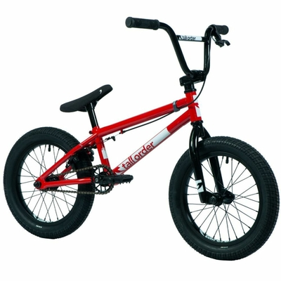 "BMX TALL ORDER RAMP 16"" GLOSS RED 2021"
