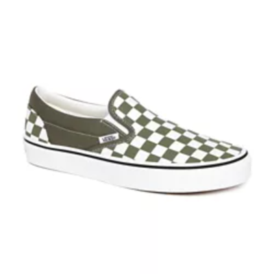 SHOES VANS SLIP ON CHECKERBOARD KHAKI