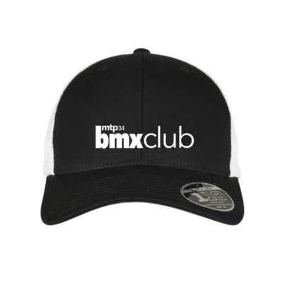 CASQUETTE MPTBMX RIDE UK FITTED SNAP BACK/WHITE