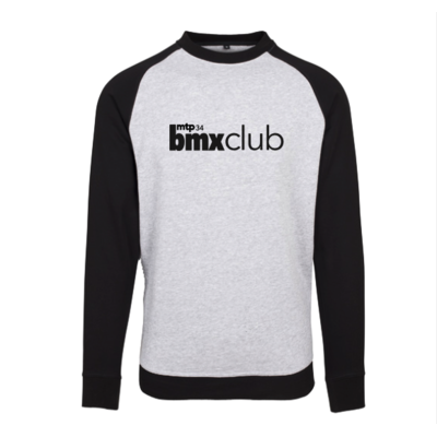 SWEAT CREW MTPBMX RIDE UK X AVENUE BLACK/GREY