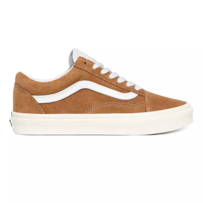 SHOES VANS OLD SKOOL PIG SUEDE BROWN