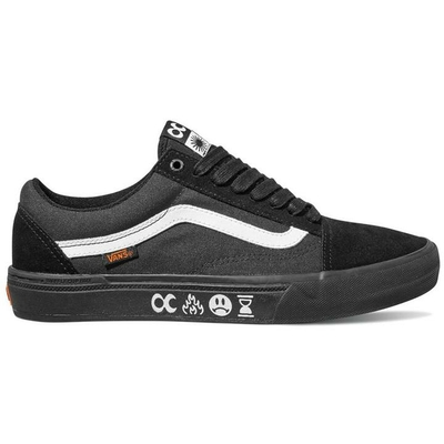 SHOES VANS/CULT OLD SKOOL PRO BMX BLACK