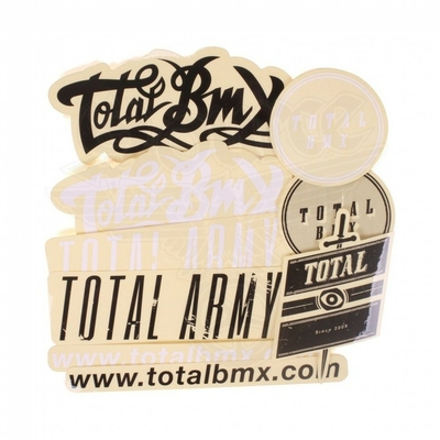 STICKERS TOTAL BMX MIX PACK