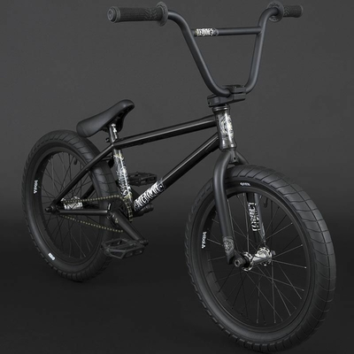BMX FLYBIKES SUPERNOVA 18 RHD GLOSS BLACK 2021