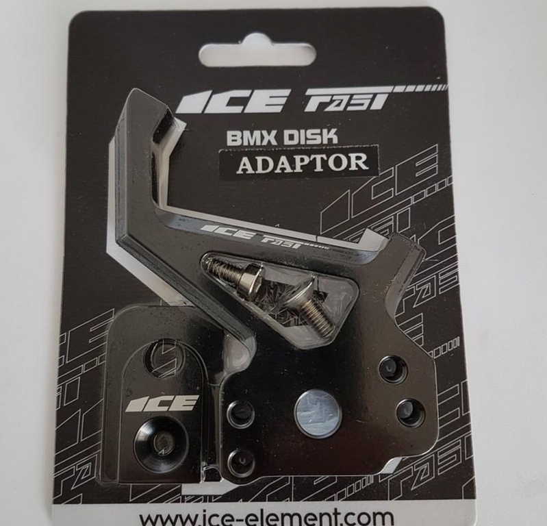 adaptateur ice disk + fixation 20/10mm