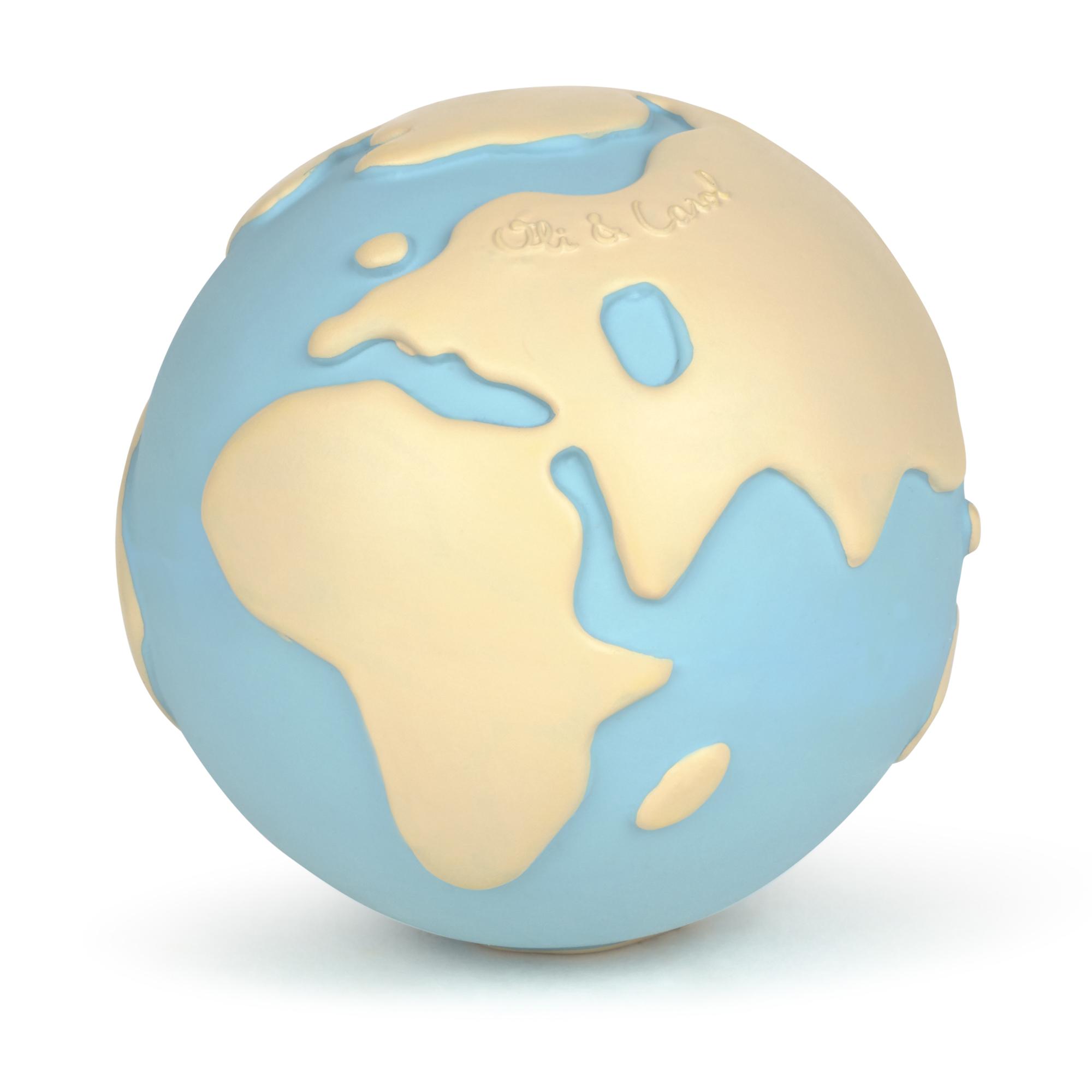 Balle Earthy le monde