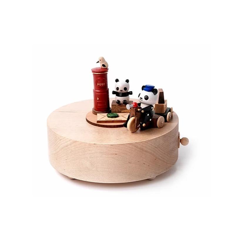 Boîte à musique n°3 - Panda postier
