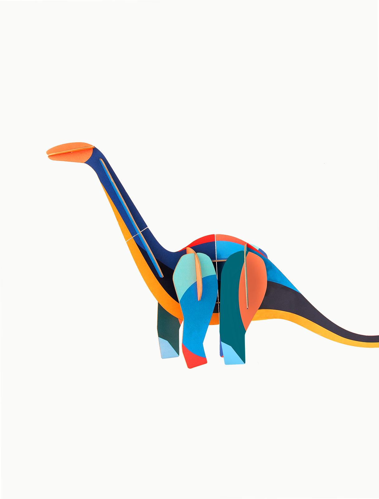 Objet 3D à construire - Diplodocus