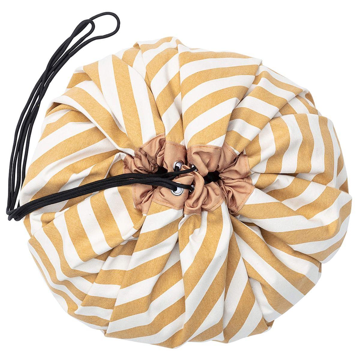 playandgo-toy-storage-bag-stripesmustard-closed