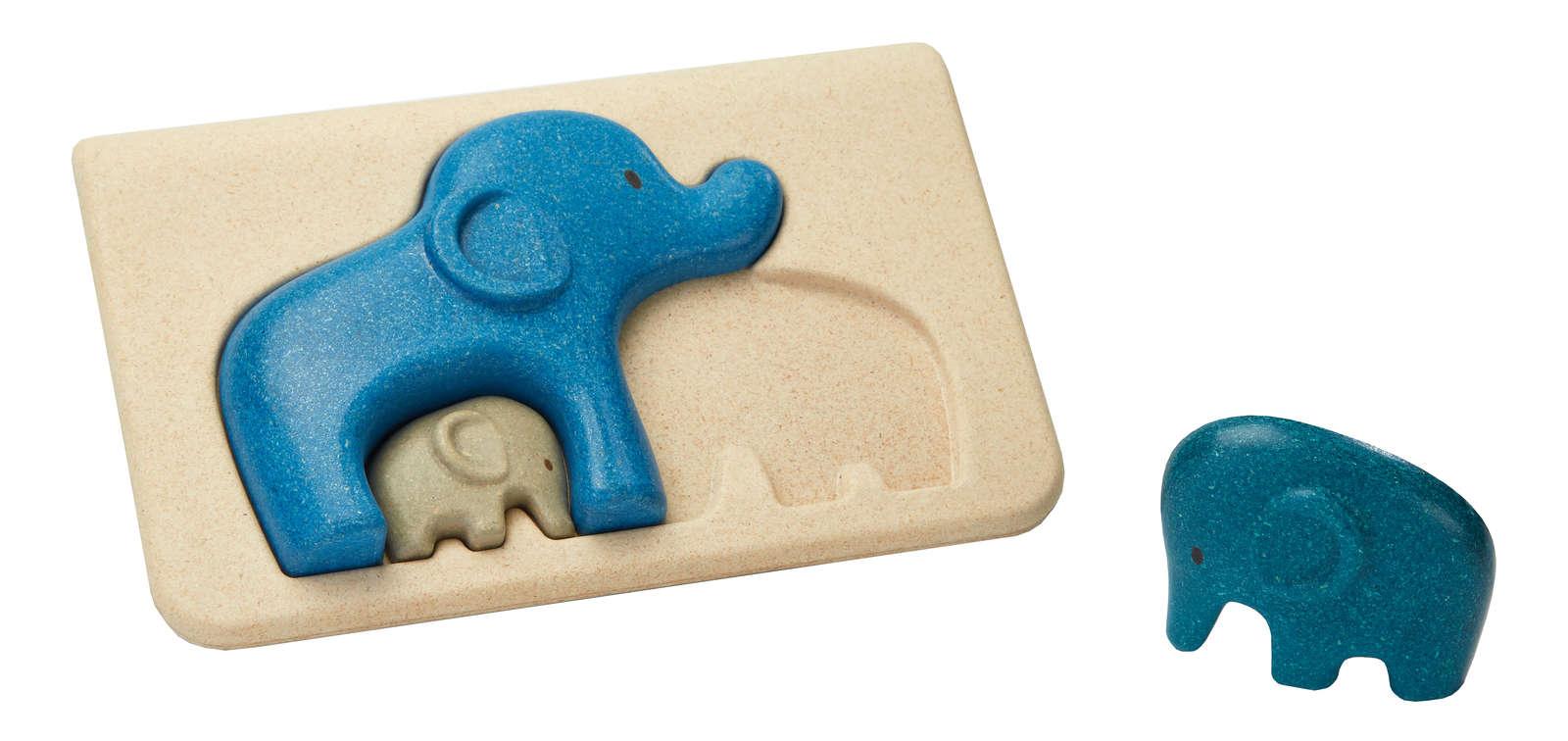 Mon 1er puzzle - Eléphant