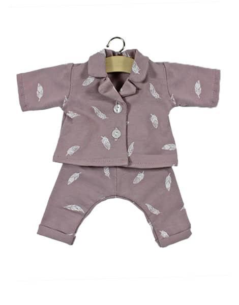 Pyjama-plume-minikane-poupée-petit-d-homme