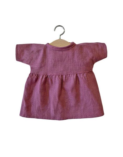Robe Faustine pour poupée/poupon 34 cm