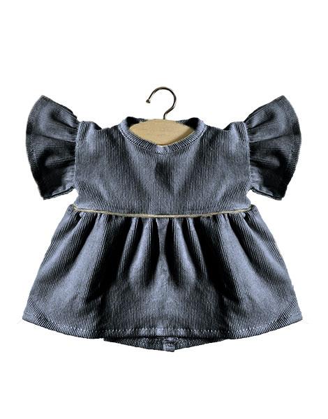 robe-daisy-en-velours-gris-anthracite-minikane-petit-d-homme-valenciennes