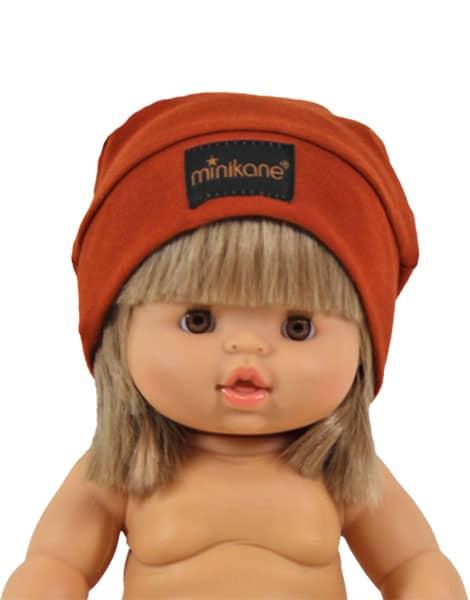 Bonnet chaussette pour poupée/poupon 34 cm