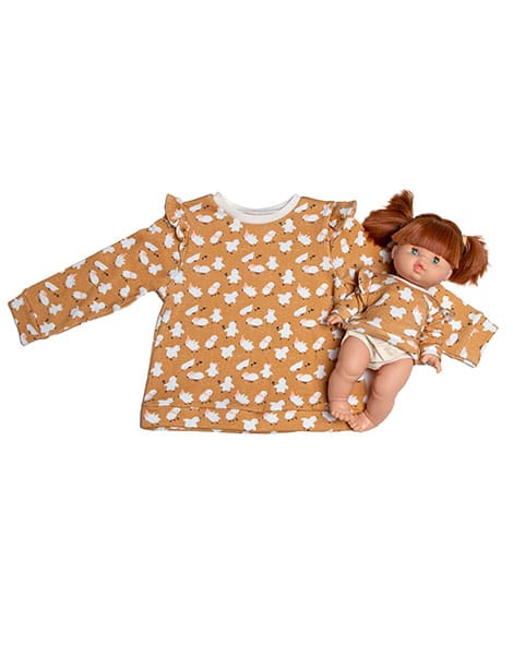 Collection Duo - Sweat Louisa coton little chick