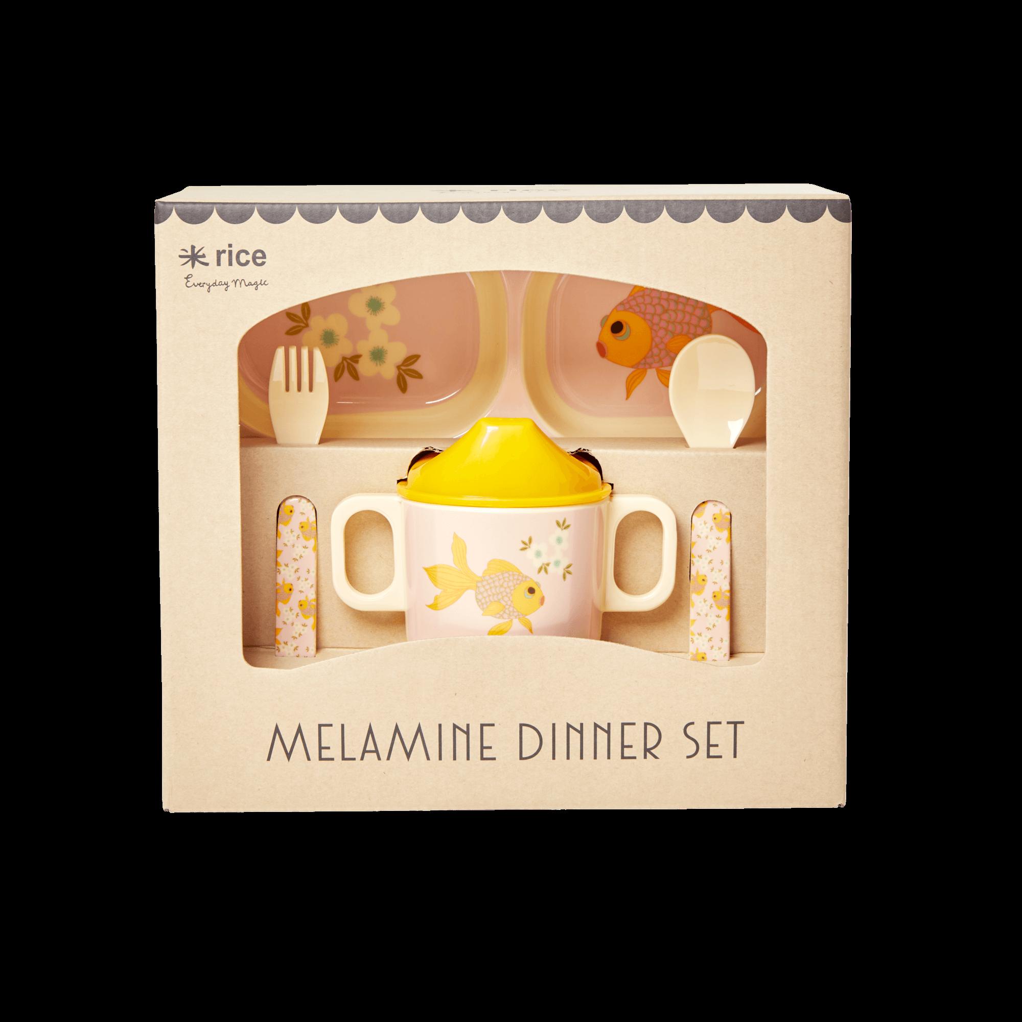 Coffret vaisselle - Poissons