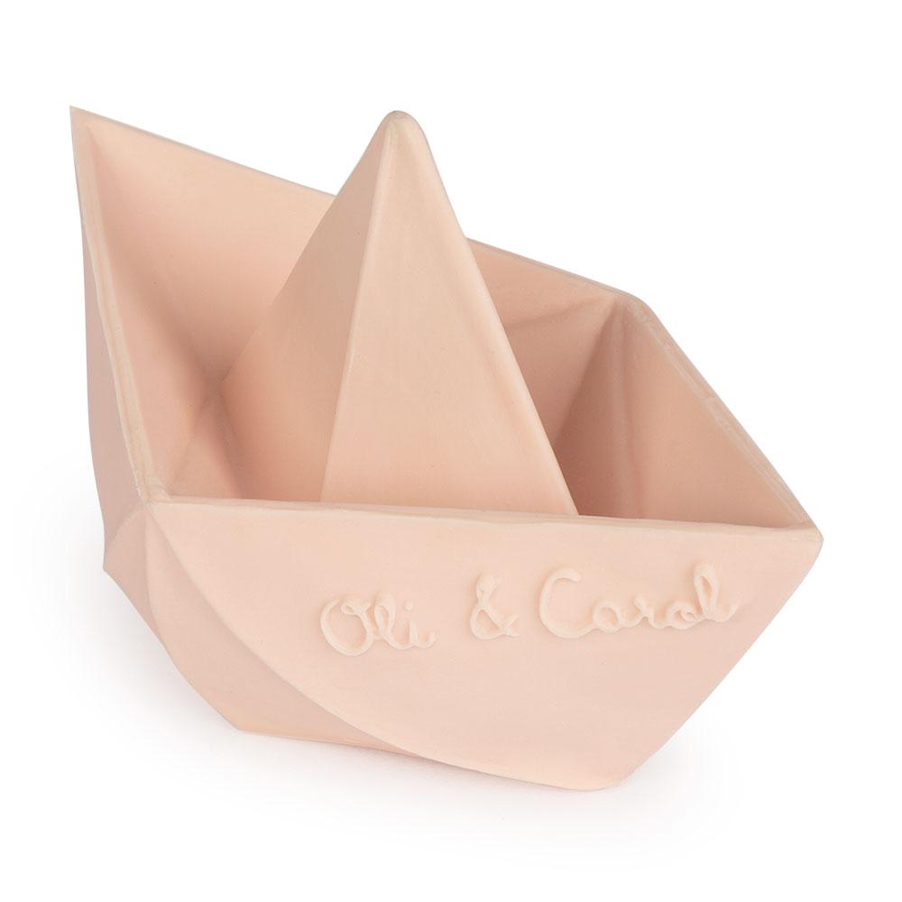 Jouet bateau origami nude